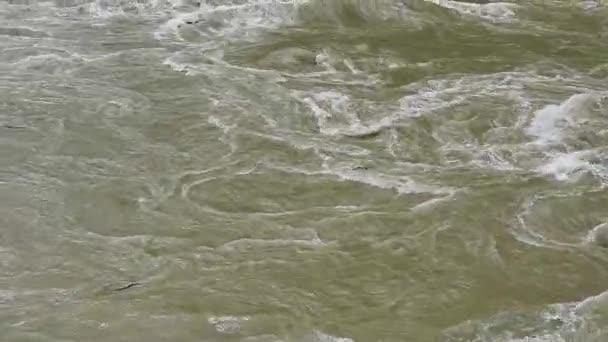 Vařící vody. Řeka