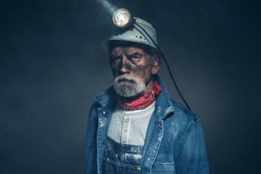 Humorless Bearded Old Miner