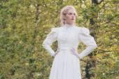 Retro viktoriánské módy žena