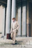 Fotografie Vintage commercial traveler