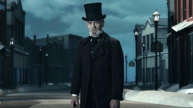 Dickens Scrooge Man