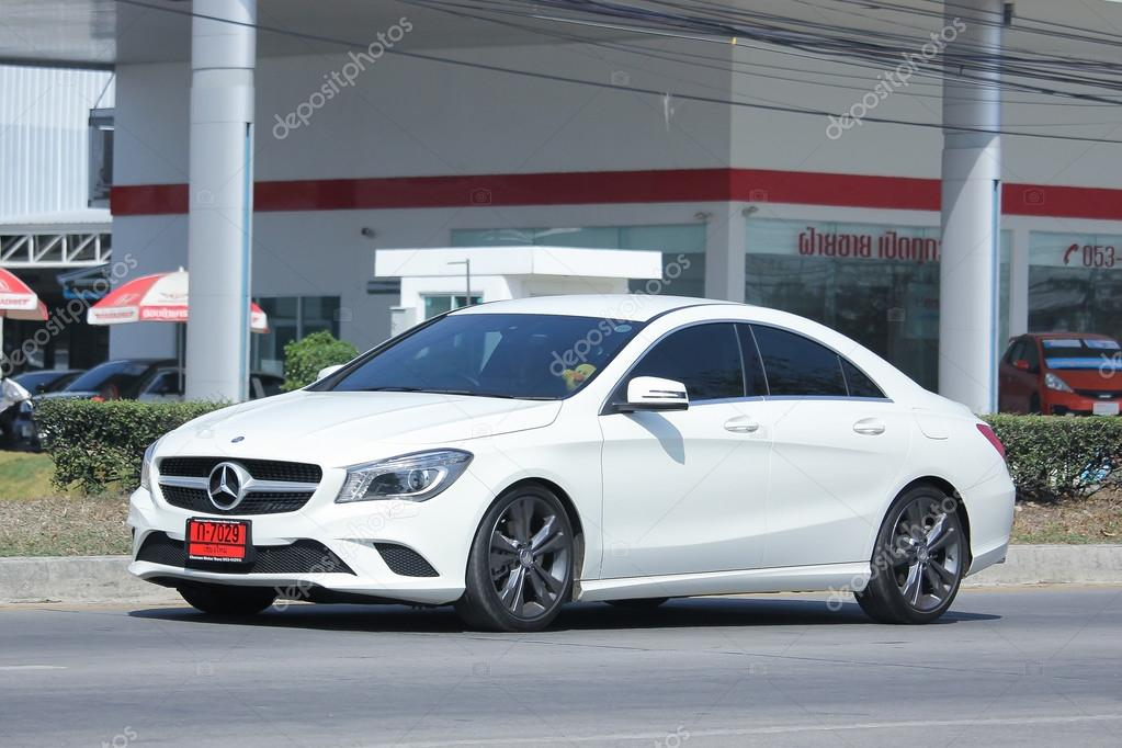 Private Luxury Car, Mercedes Benz New C Class. U2014 Fotografia De Stock