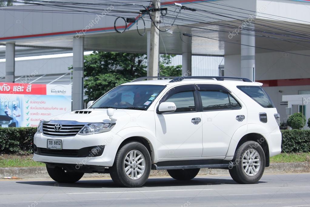 Private Suv Car Toyota Fortuner Stock Editorial Photo