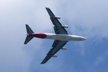 VH-OED Boeing 747-400 of Qantas airway.