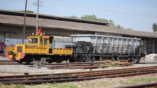 Údržba vlak státní železnice z Thajska