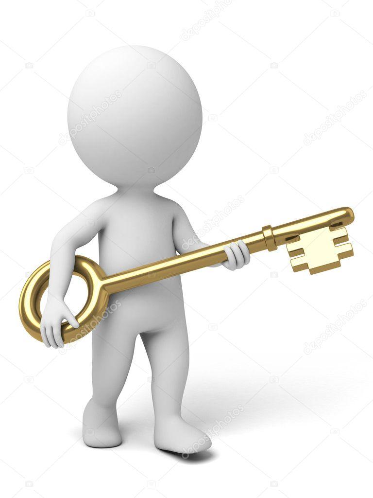 key, unlocking, knack — Stock Photo © bluecups #89821338