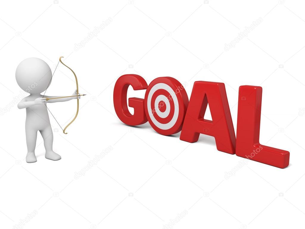 Goal Aim Target Stock Photo Bluecups 89821702