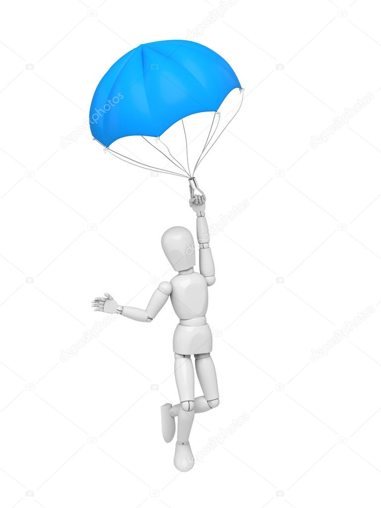 parachuting parachute ,employment