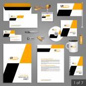 Firemní identita. Šablona upravit firemní identity. šablony šablony design
