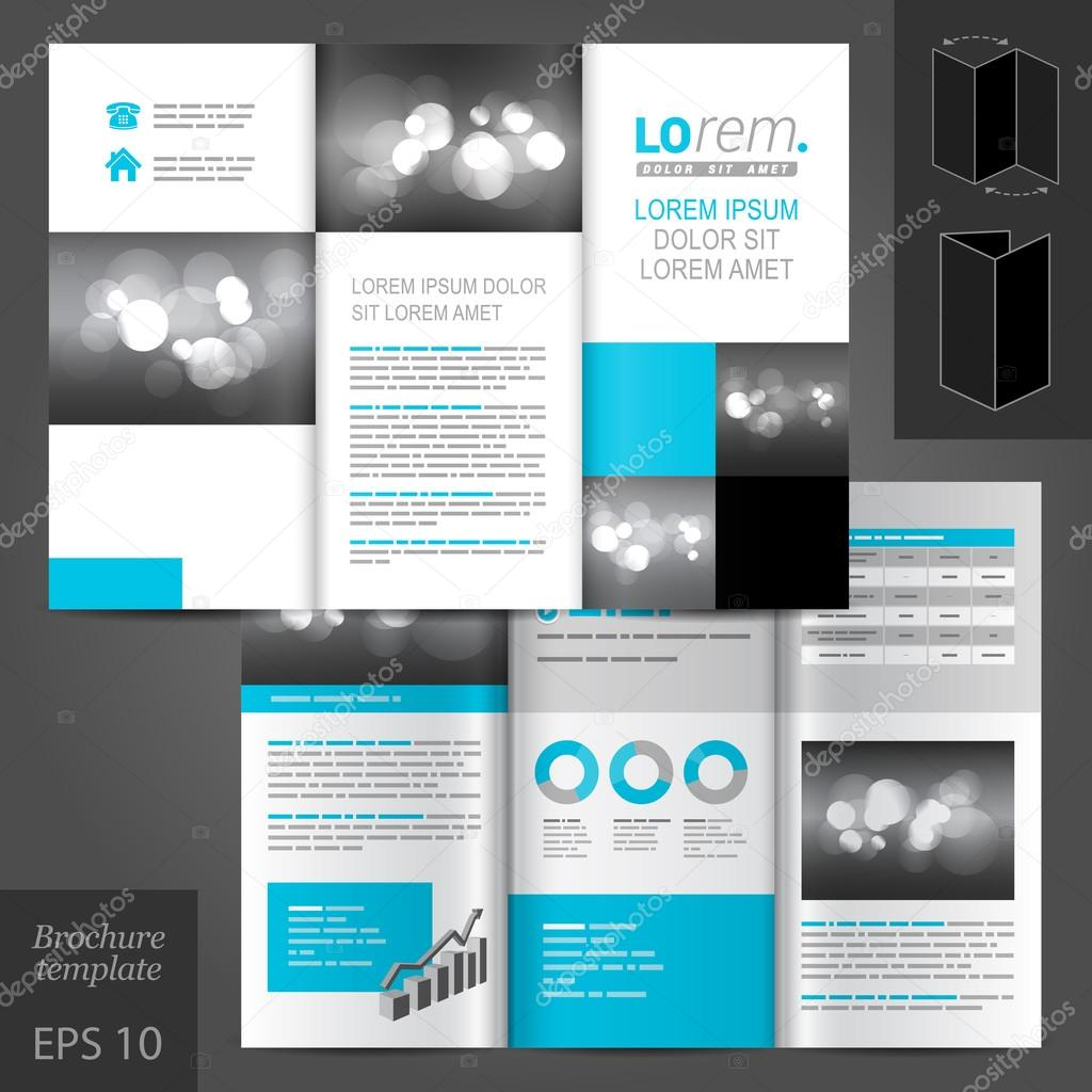 brochure template design stock vector kenterville 54474115