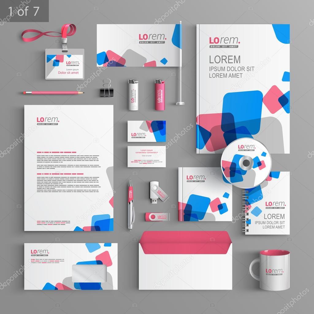 Corporate identity  Editable corporate identity template