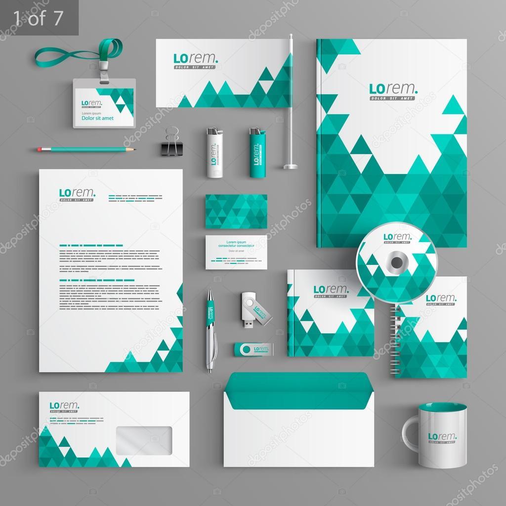 corporate identity. editable corporate identity template, Powerpoint templates
