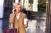Senior obchodní žena