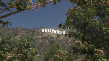 Hollywood Sign Letters At Sunrise Stock Video C Peshkov 45932619