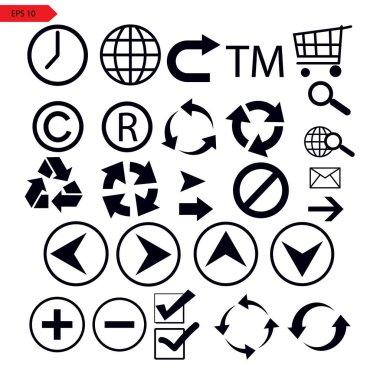 Set of vector arrows. Arrow icons. Arrow vector icon. Arrow. Arrows vector collection icon