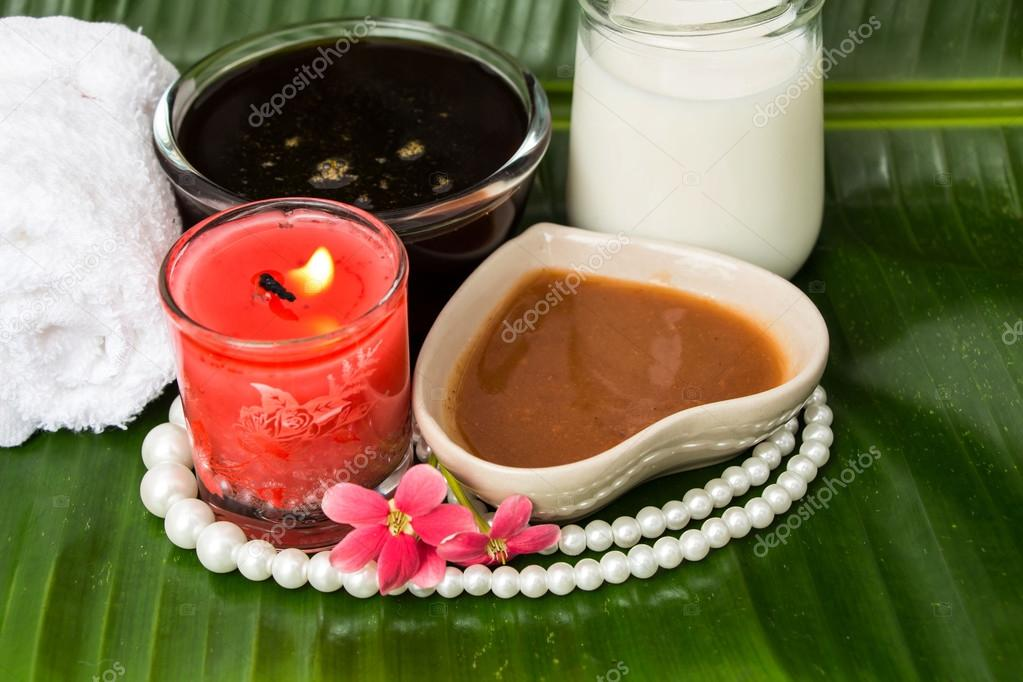 Thai herb for spa