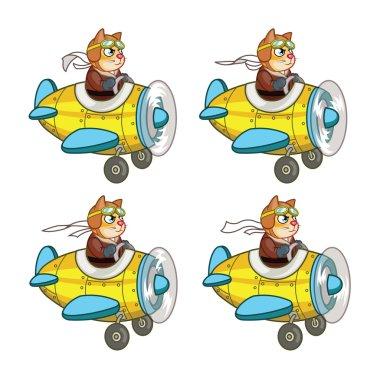 Rat Pilot Game Sprite