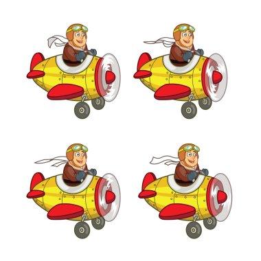 Chubby Boy Pilot Game Sprite