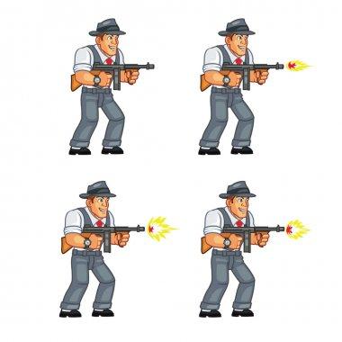 Mobster Game Sprite