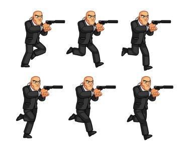 Body Guard Animation Sprite