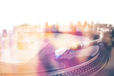 Turntable - double exposure