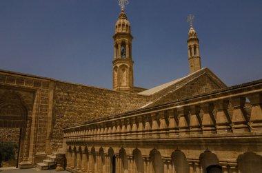 Courtyard of Mor Gabriel Monastery