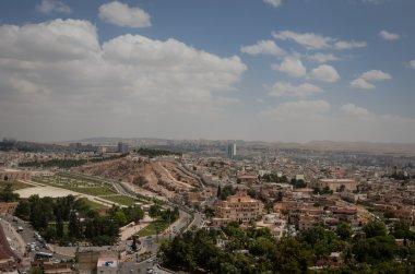 Panoramic view of Urfa city