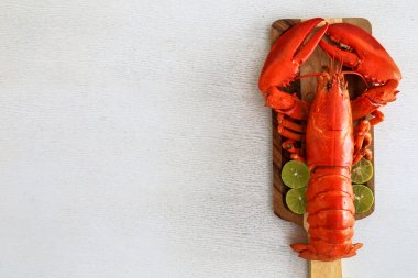 Red lobster, the famouse food for who love to eat seafood.