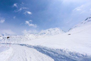 Snow wall at Tateyama