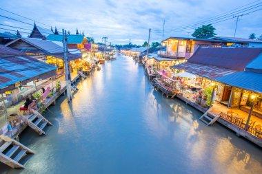 Floting market, Thailand