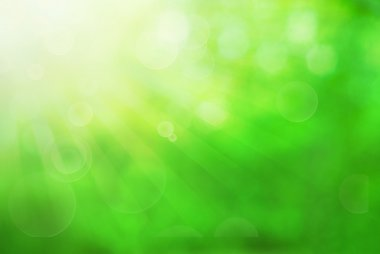 "Картина, постер, плакат, фотообои ""green blurred background"", артикул 111380288"