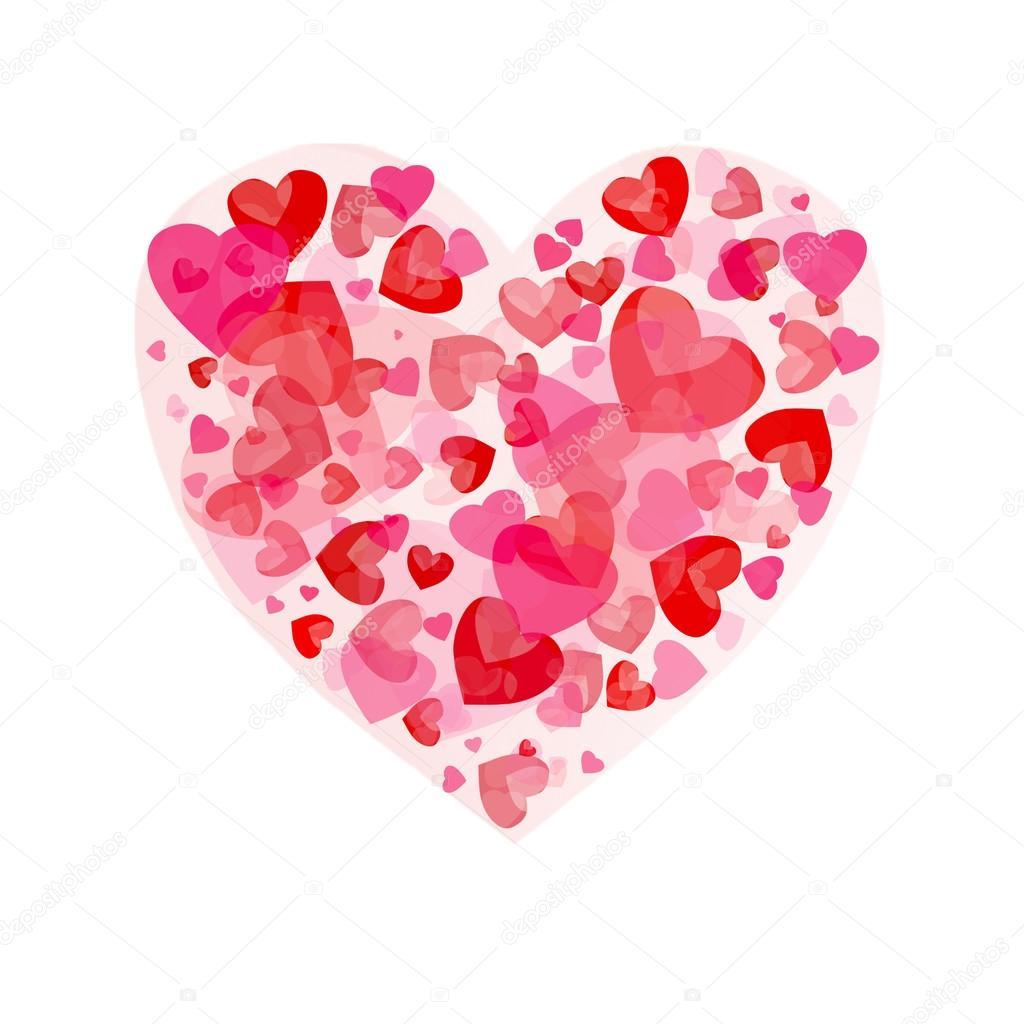 Großes rotes Herz - Stockfotografie: lizenzfreie Fotos © Nadianb 95773694   Depositphotos