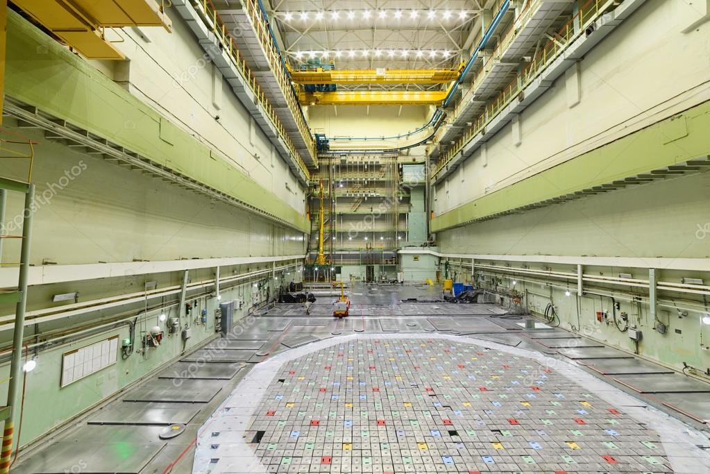 Reactor room RBMK. — Stock Photo