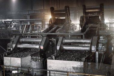 Kömürden yararlanma tesisi. Tarama ekipmanları