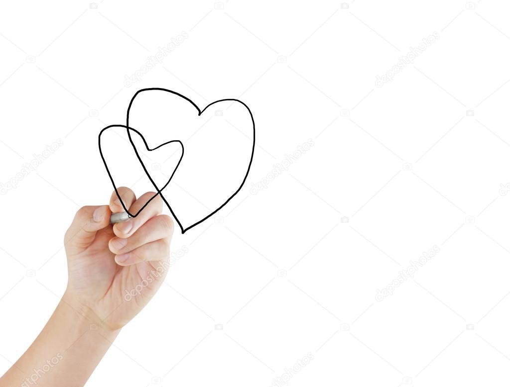 Drawing Chart Heartbeat Stock Photo C Violetkaipa 58477497