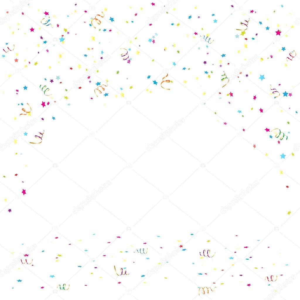 Confetti E Enfeites De Anivers Rio Vetores De Stock Losw 100402600 -> Enfeites De Fotos