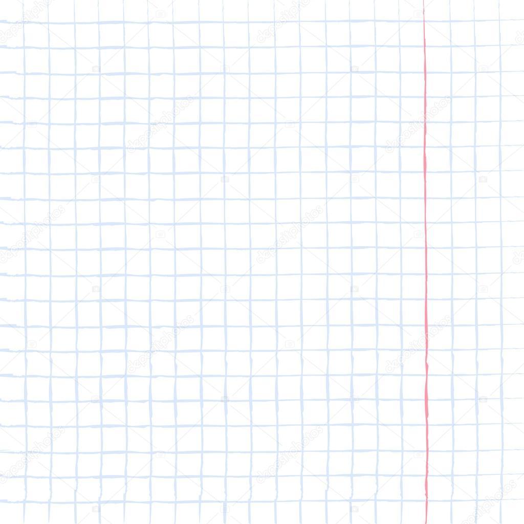 Blatt Papier notebook — Stockvektor © losw #124276742