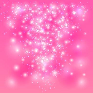 Pink shining background