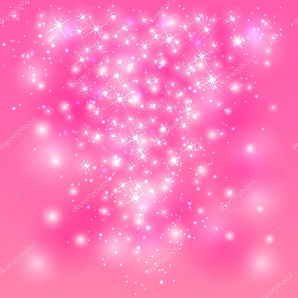 Pink shining background