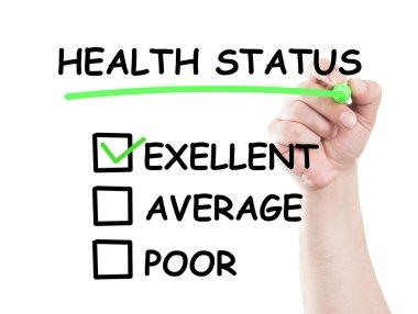 Excellent health status