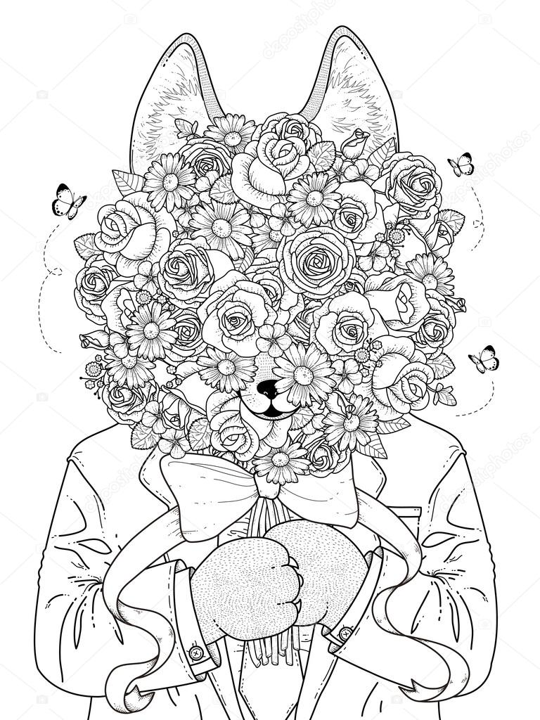 Free Today Awesome Adult Coloring Page