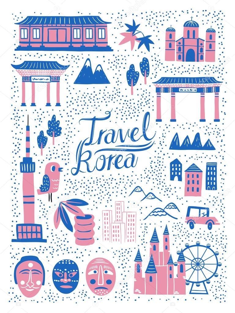 Картинки по запросу корейский дизайн плаката