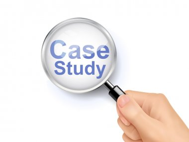 magnify glass of case study