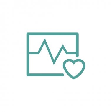 heartbeat thin line icon