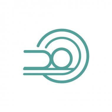 MRI icon sign