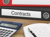 Fotografie contracts on binders