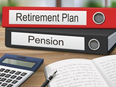 retirement plan and pension binders