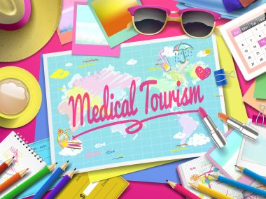 Medical Tourism on map
