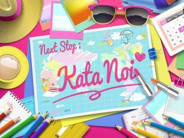 Kata Noi on map