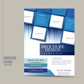 Fotografie geometrické moderny flyer šablony
